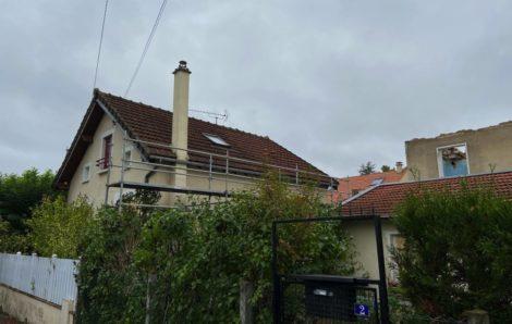 Rénovation toiture Achères