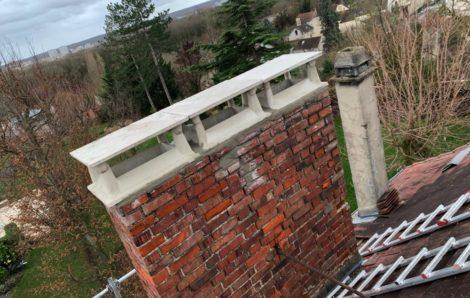 Couvreur 78 – Rénovation cheminée Andrésy