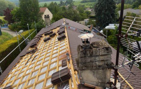 Rénovation toiture Montalet-le-Bois 78