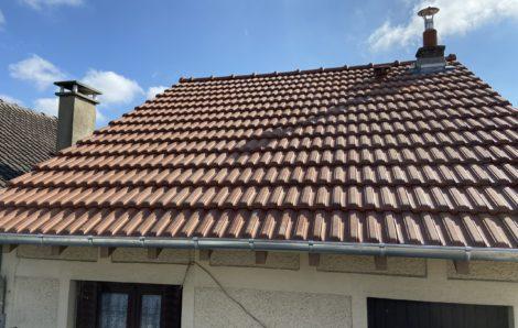 Fin du chantier rénovation toiture Les Mureaux 78130